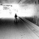 Little Boy In The Tunnel
