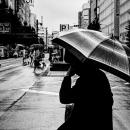 Umbrella On Yasukuni-Dori