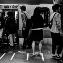 Yamanote Line And Passengers