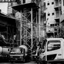 Concrete Mixer Trucks In A Factory