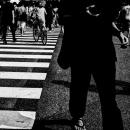 Sandlas In The Scramble Crossing @ Tokyo