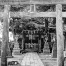 Small Shinto Shrine In Shinagawa