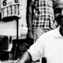 Laugh-filled Street Vendor