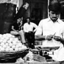 Lemons, Weighing Machine And Knife