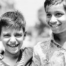 Boys With An Amused Smile @ India