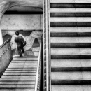 Man At The Bottom Of The Stairway
