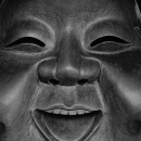 Smiling Face In Otori JInja