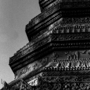 Stupa In Wat Nam Kaew Luang