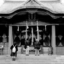 Worshipers In Anamori Inari