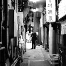 Businessman In The Alleyway