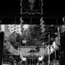 Gate, Lanterns And Prayer Hall
