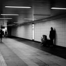Figures In An Underground Passage