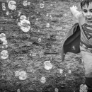 Soap Bubbles And Little Superman