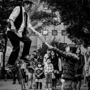 Unicycle And Audiences
