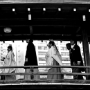 People On The Wooden Bridge