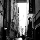 Back Street In Shinjuku