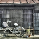 Old House And A Bicycle