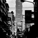 Taipei 101 And A Motorbike