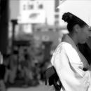 Young Woman Wearing Kimono @ Tokyo