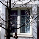 Bay Window Of A White House