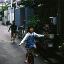 Kids Riding Unicycle @ Tokyo
