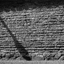 Shadow On The Old Wall @ Nara