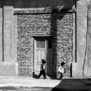 Two Little Kids In The Old Town