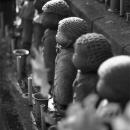 Statues Of Jizo In Zojo-ji @ Tokyo