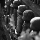 Statues Of Jizo In Zojo-Ji