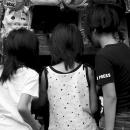 Three Girls At A Sweet Shop