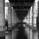 Waterway Under The Highway
