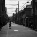 Bicycle In A Residential Area @ Tokyo