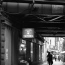 Under The Railroad Bridge In Shimbashi @ Tokyo