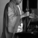 Buddhist Monk Was Just Praying