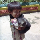 A Boy And His Unusual Friend @ Laos