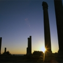 Pillars In Sunset In Al-Mina @ Lebanon