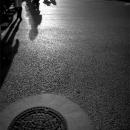 Manhole And Shadows @ Tokyo