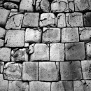 Stone Wall Of Edo Castle @ Tokyo
