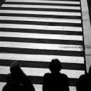 Figures At The Crosswalk @ Tokyo