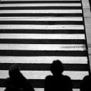 Figures At The Crosswalk