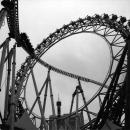 Coaster And Ferris Wheel @ Tokyo