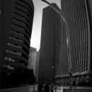 Pedestrian Bridge In Shinjuku @ Tokyo