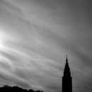 Silhouette Of A Skyscraper
