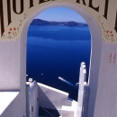 Entrance Of A Hotel @ Greece