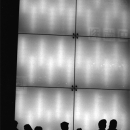 Silhouettes Of Pedestrians @ Tokyo