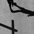 Cross And Man