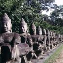 Statues In Preah Khan @ Cambodia
