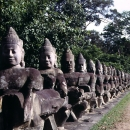 Statues In Preah Khan