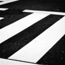 White Lines In The Crossing