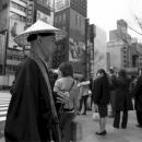 Buddhist Monk In Ginza @ Tokyo